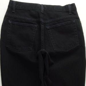 LL Bean Original Fit High Waist Mom Jeans 10 B130